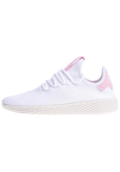 Chaussures Adidas x pharrell williams pw tennis mesh blanc
