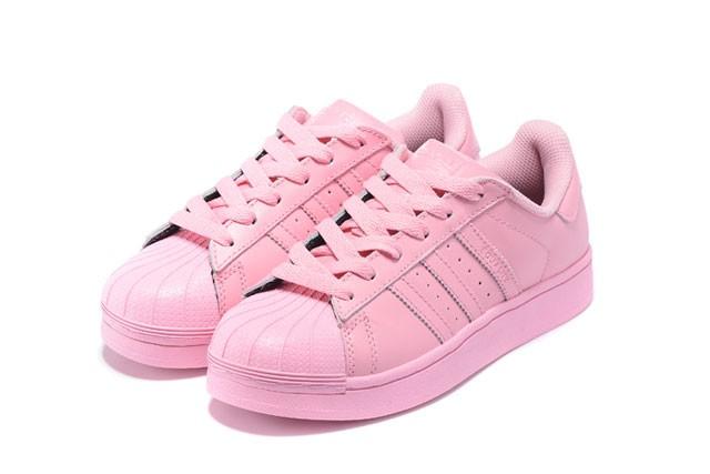 adidas superstar color rose clair