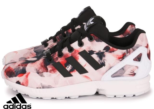 Nouveau Chaussures Adidas Zx Flux Femme Fleur En Ligne
