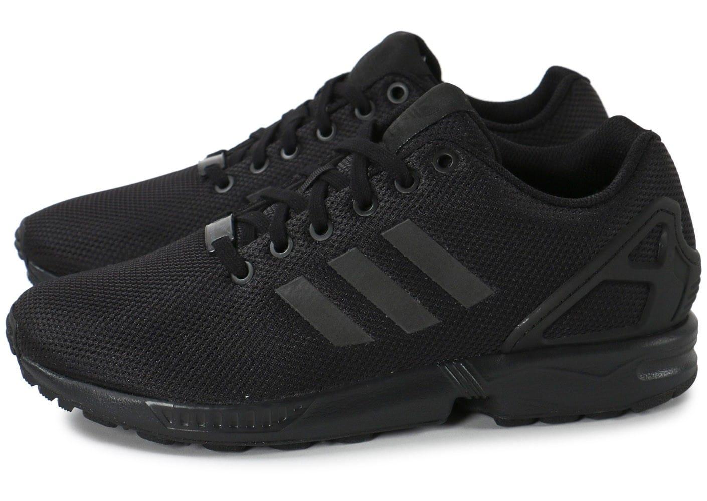 adidas zx flux noir or rose