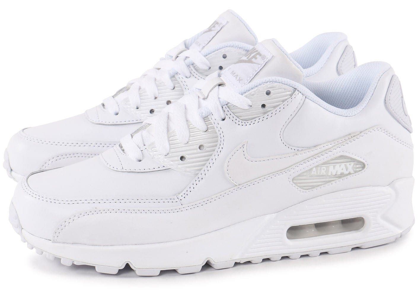 factory price factory outlets new cheap air max 90 leather blanche