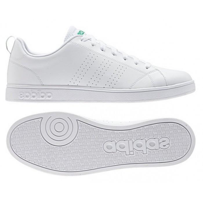 chaussures adidas neo advantage blanc rose clair femme