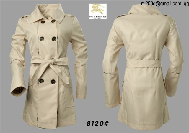 trench femme burberry pas cher